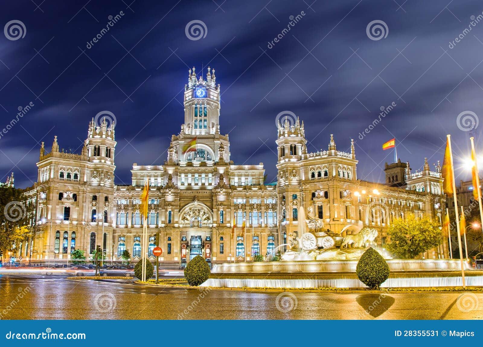 Plaza de Cibeles,马德里,西班牙