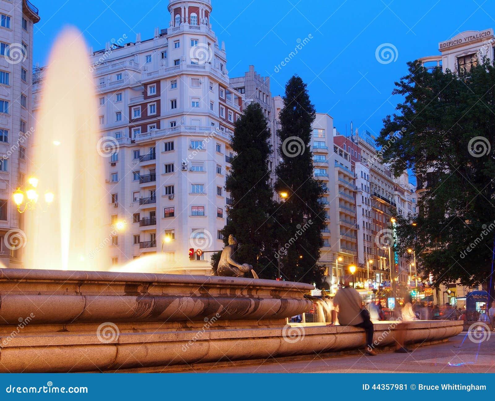 Plaza de Espana, Madrid