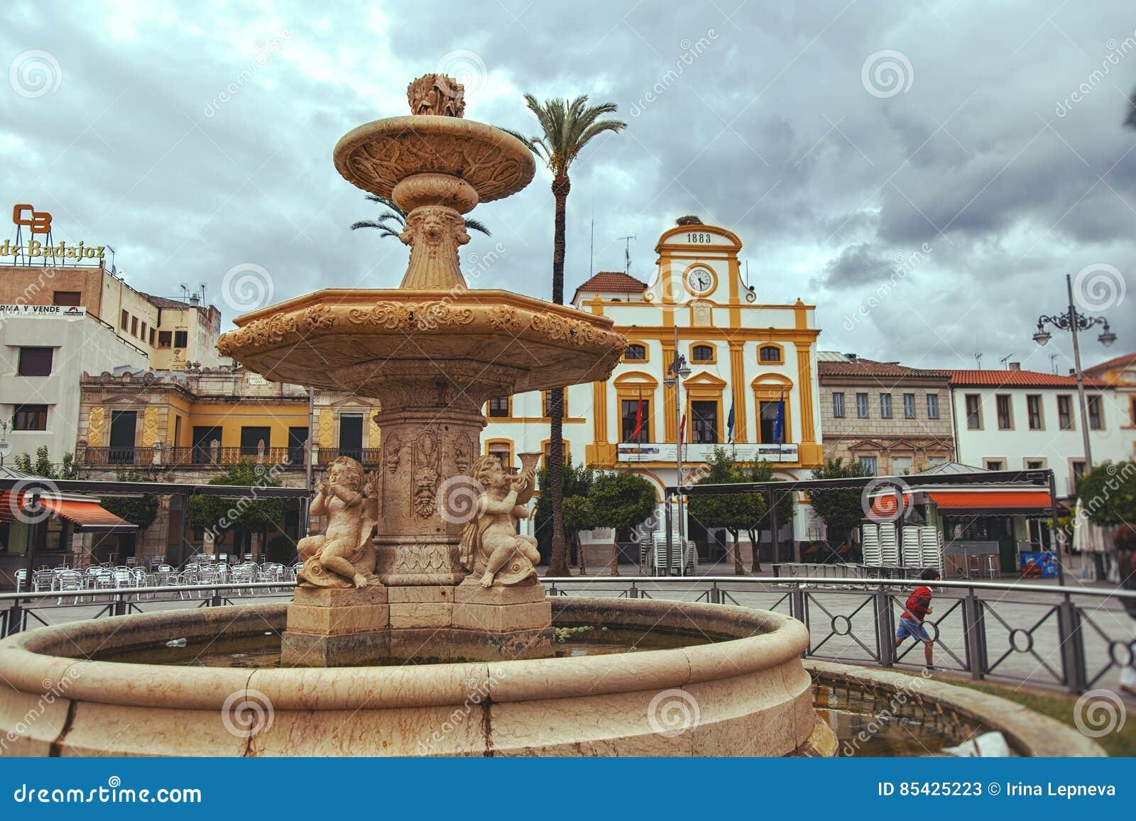 Plaza DE Espana vierkant, Merida