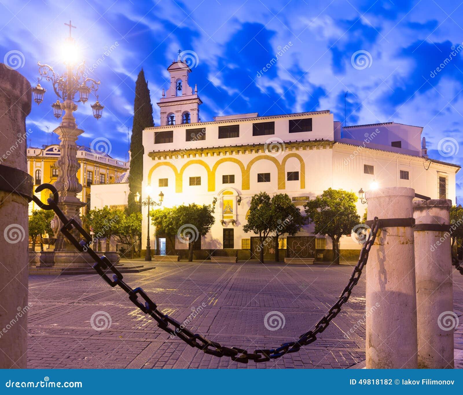 Plaza DE La Virgen DE los Reyes Sevilla, Spanje