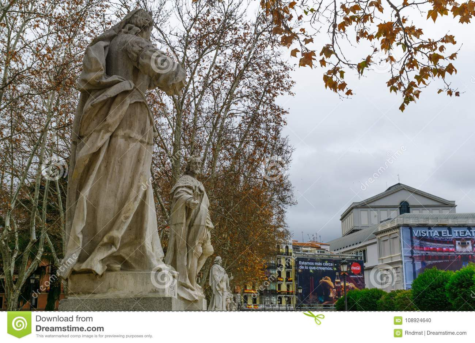 Plaza de Oriente, i Madrid
