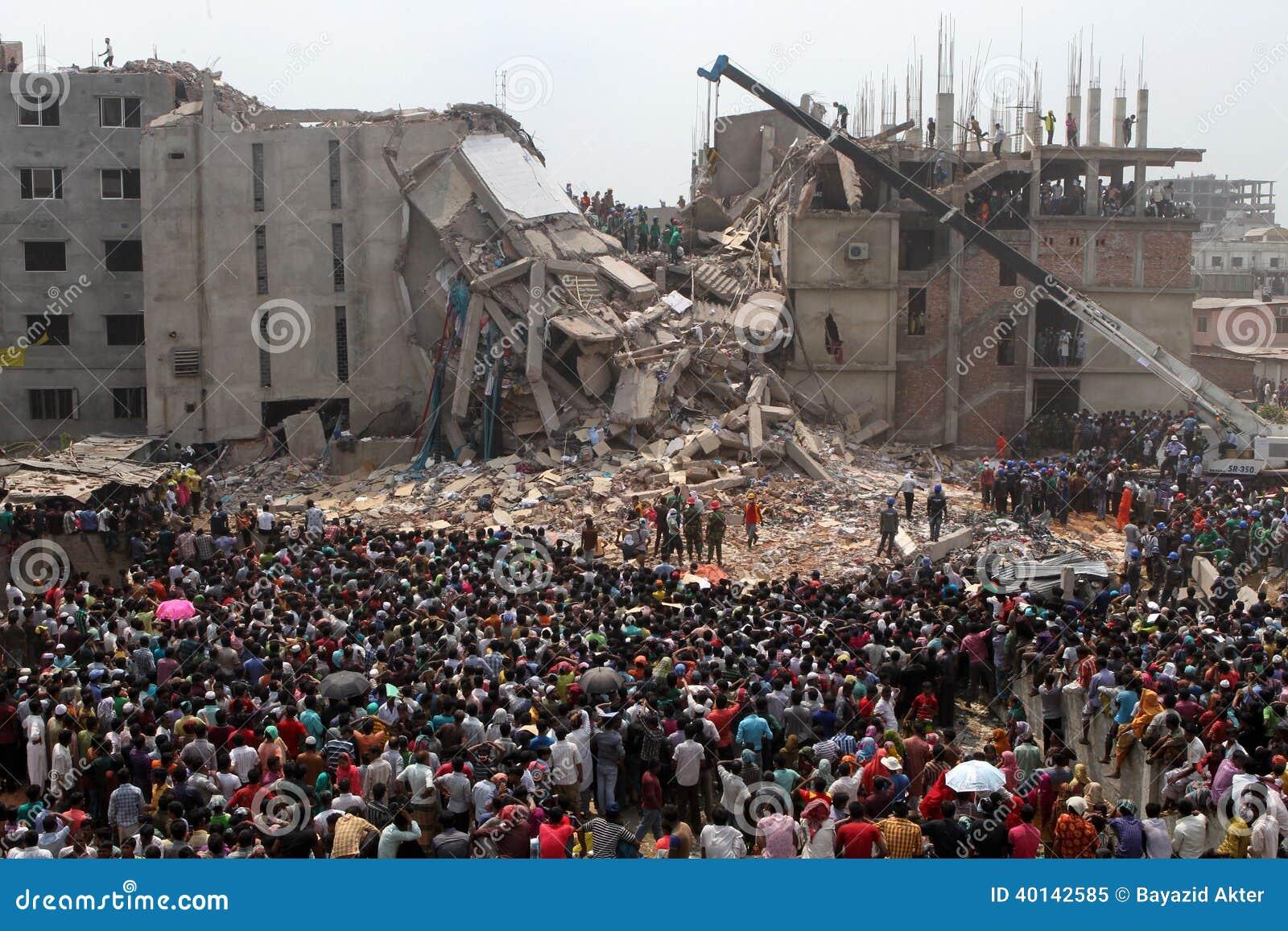 Plaza de Rana de conséquence au Bangladesh (photo de dossier)