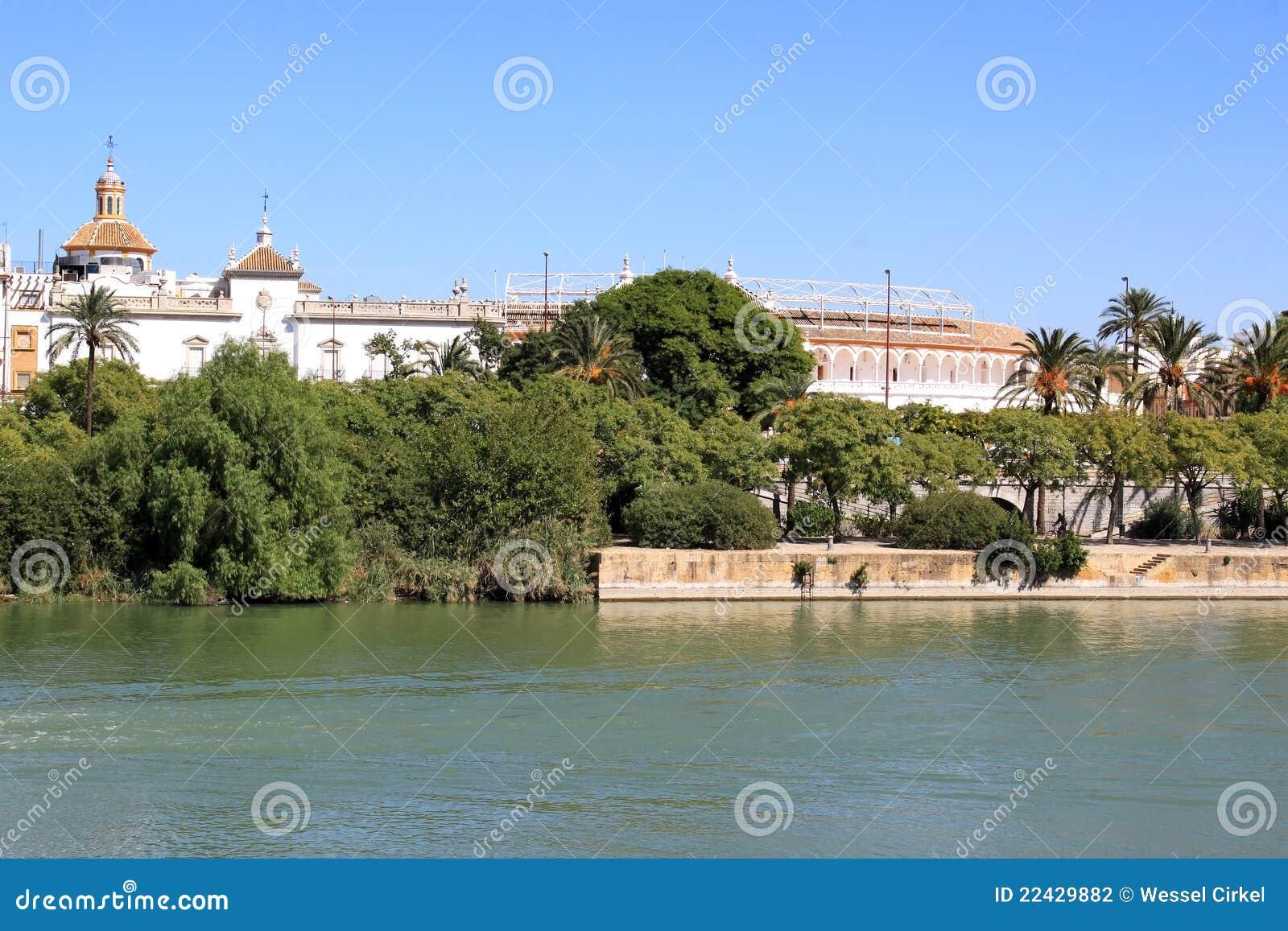 Plaza de Toros and the Guadalquivir River, Seville