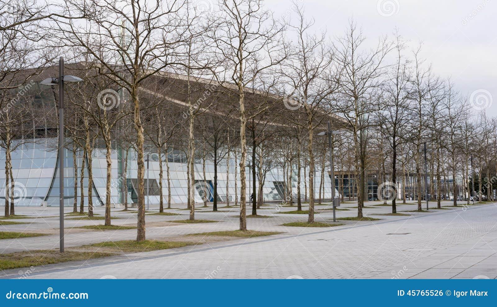 Plaza dell Expo sulla zona fieristica di Hannover