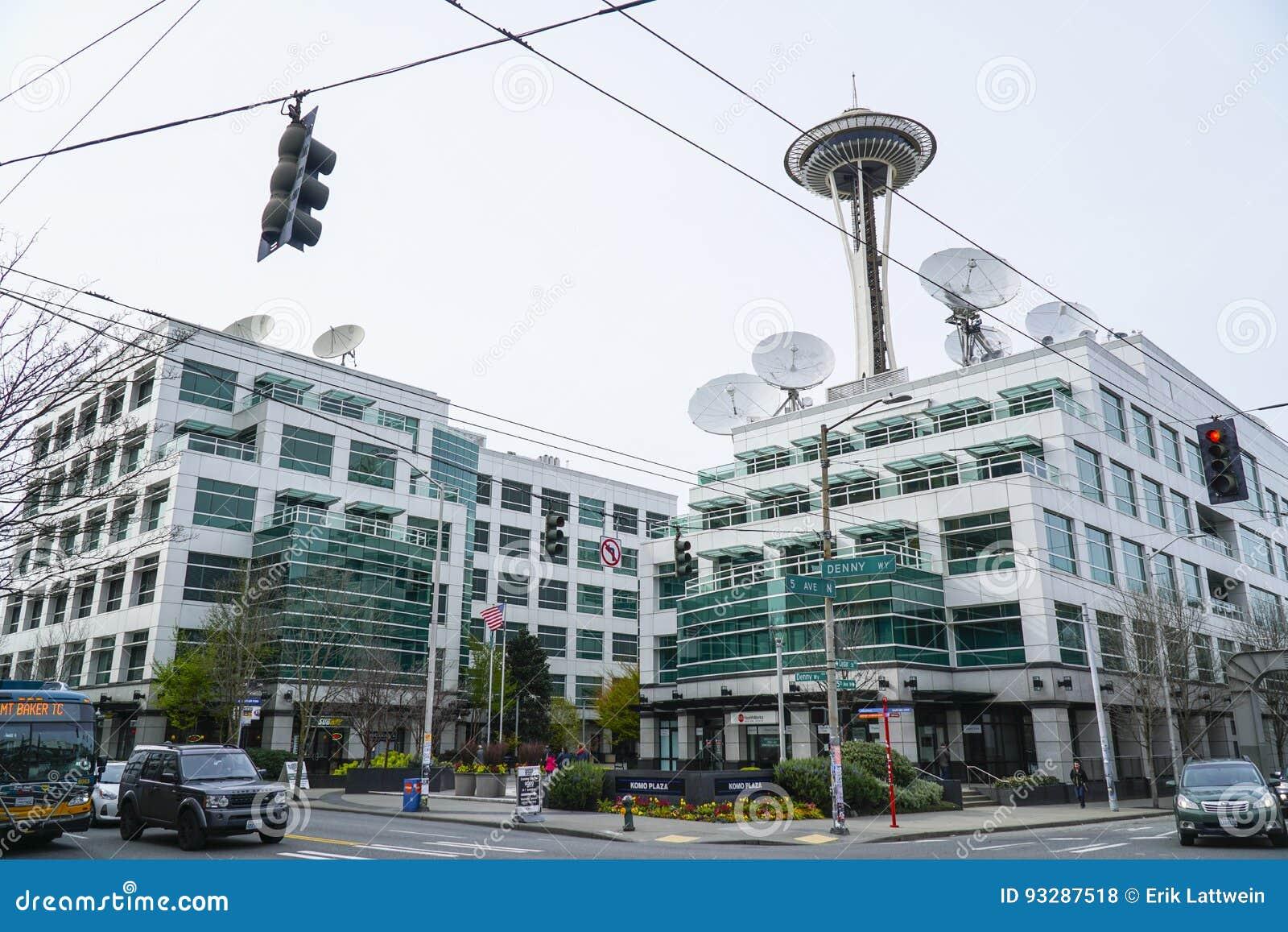 Plaza Famosa En Seattle - El Edificio De Komo De La Anatomía De Los ...