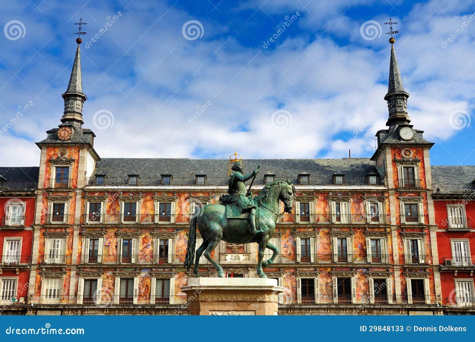 Plaza Mayor Madrid Stock Photos Image 29848133