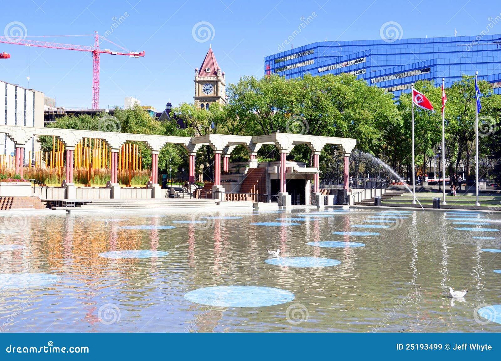 Plaza olímpica, Calgary