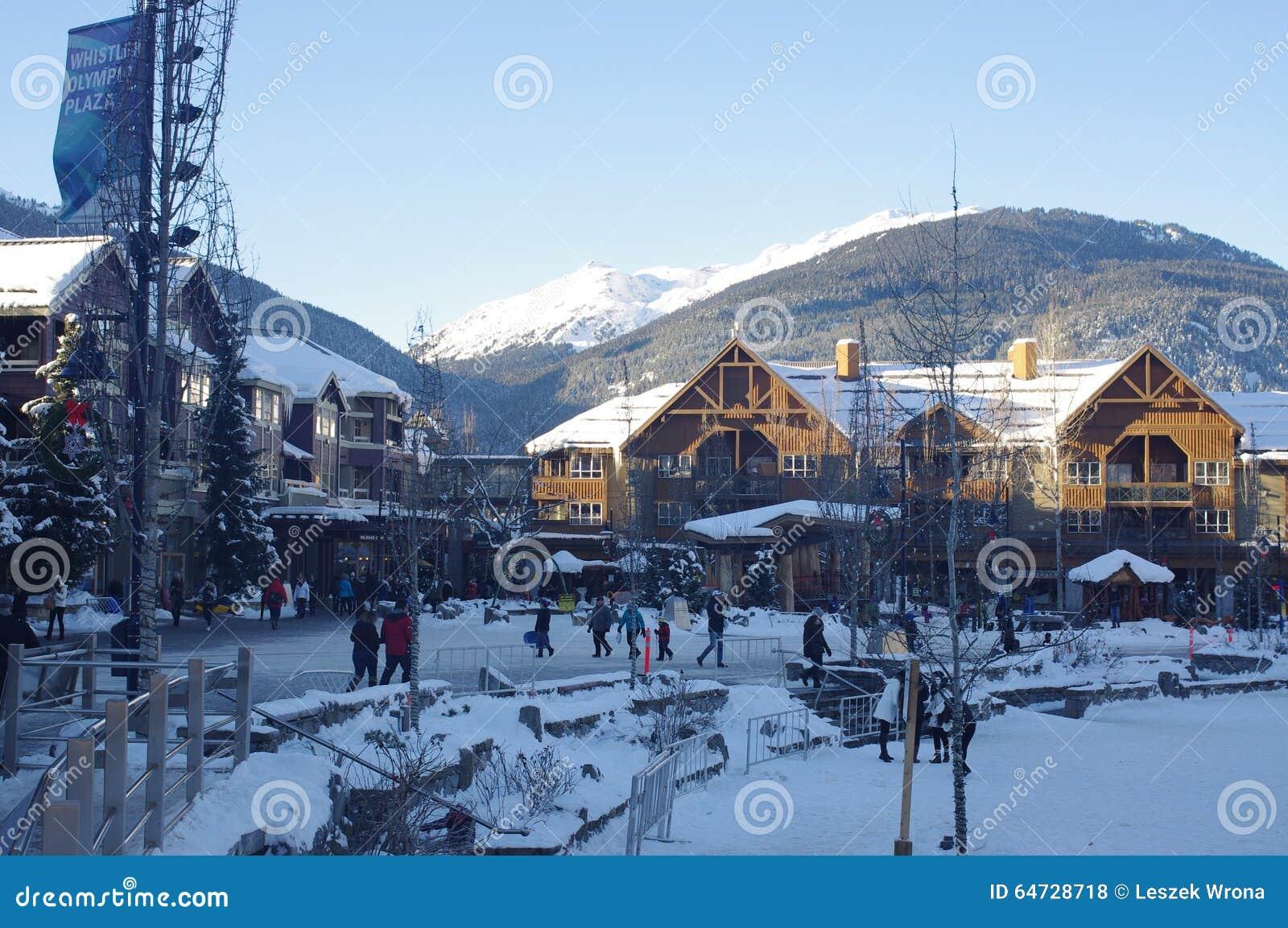 Plaza olimpica di Whistler