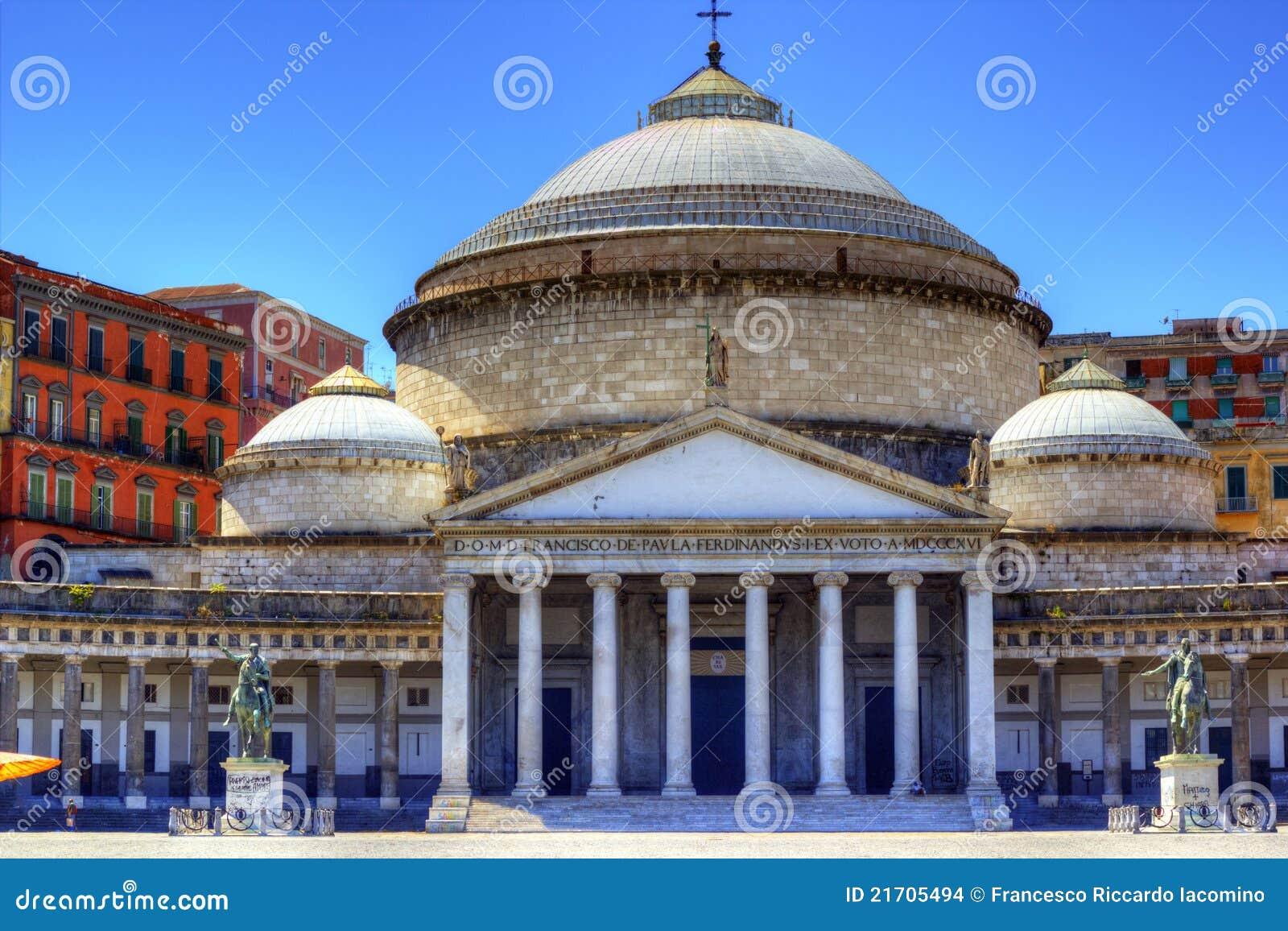 Plaza Plebiscito, Nápoles