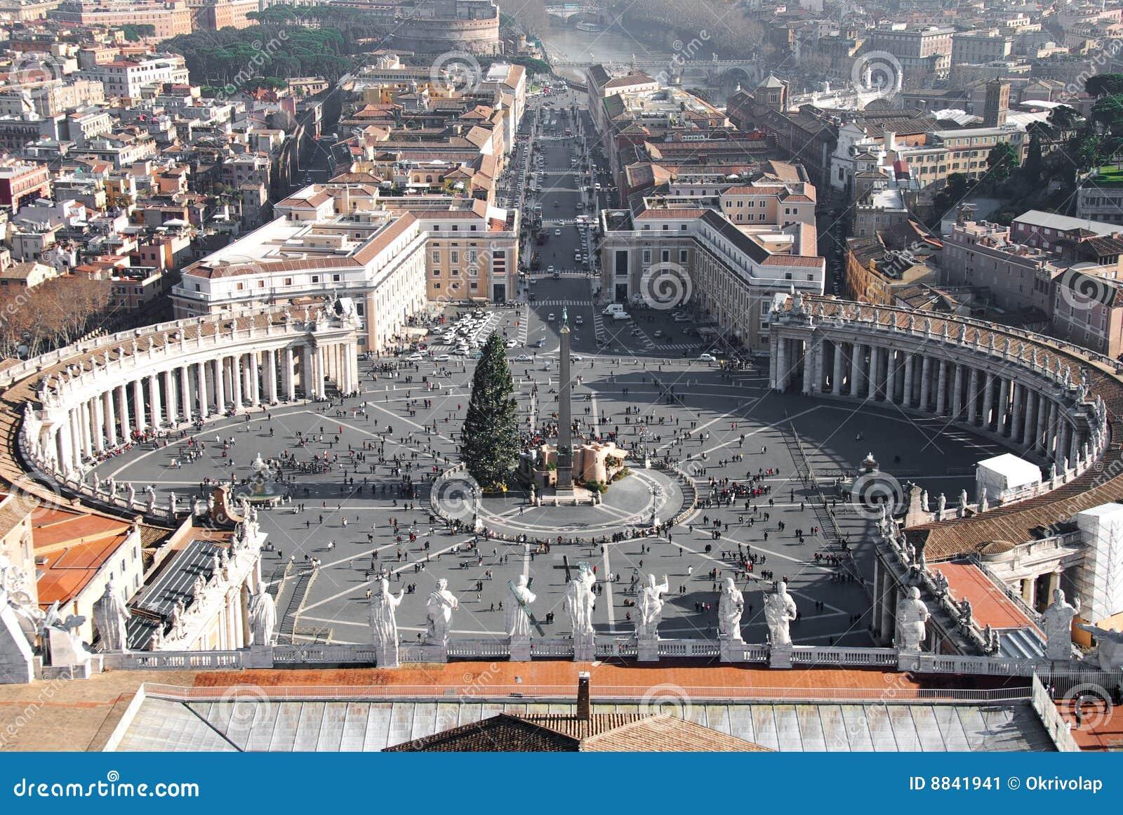 Plaza San Pedro, Roma
