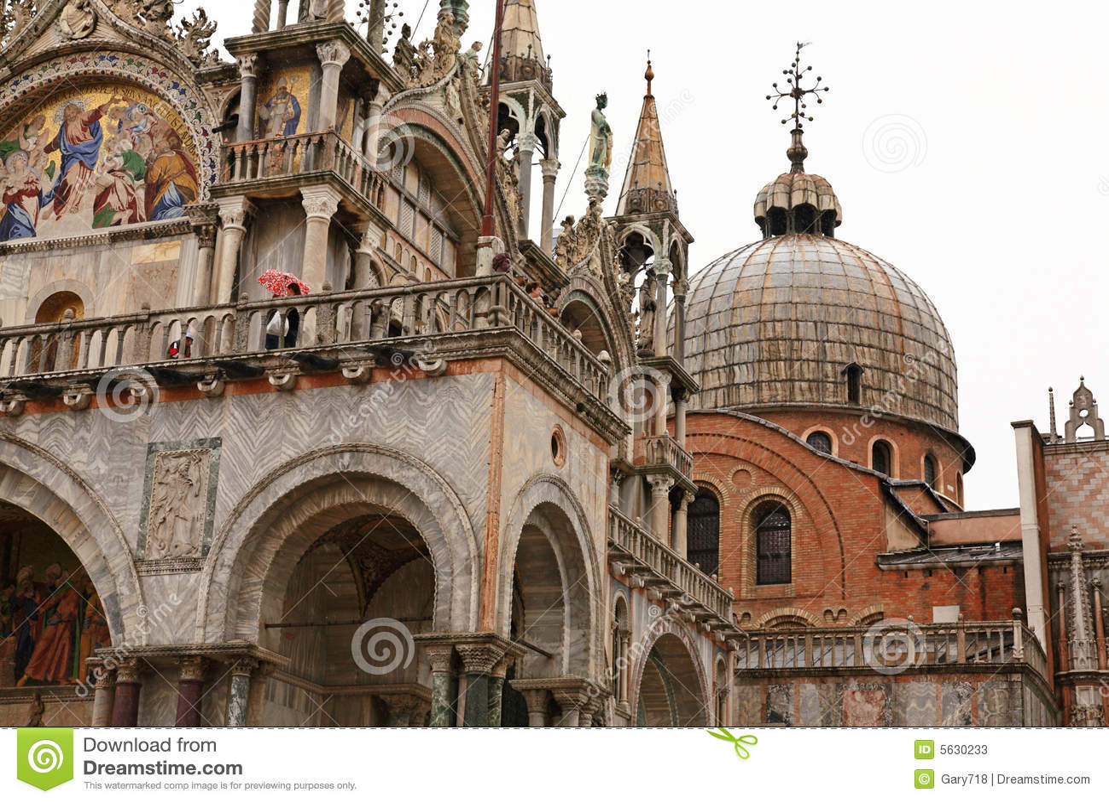 A plaza Veneza de San Marco