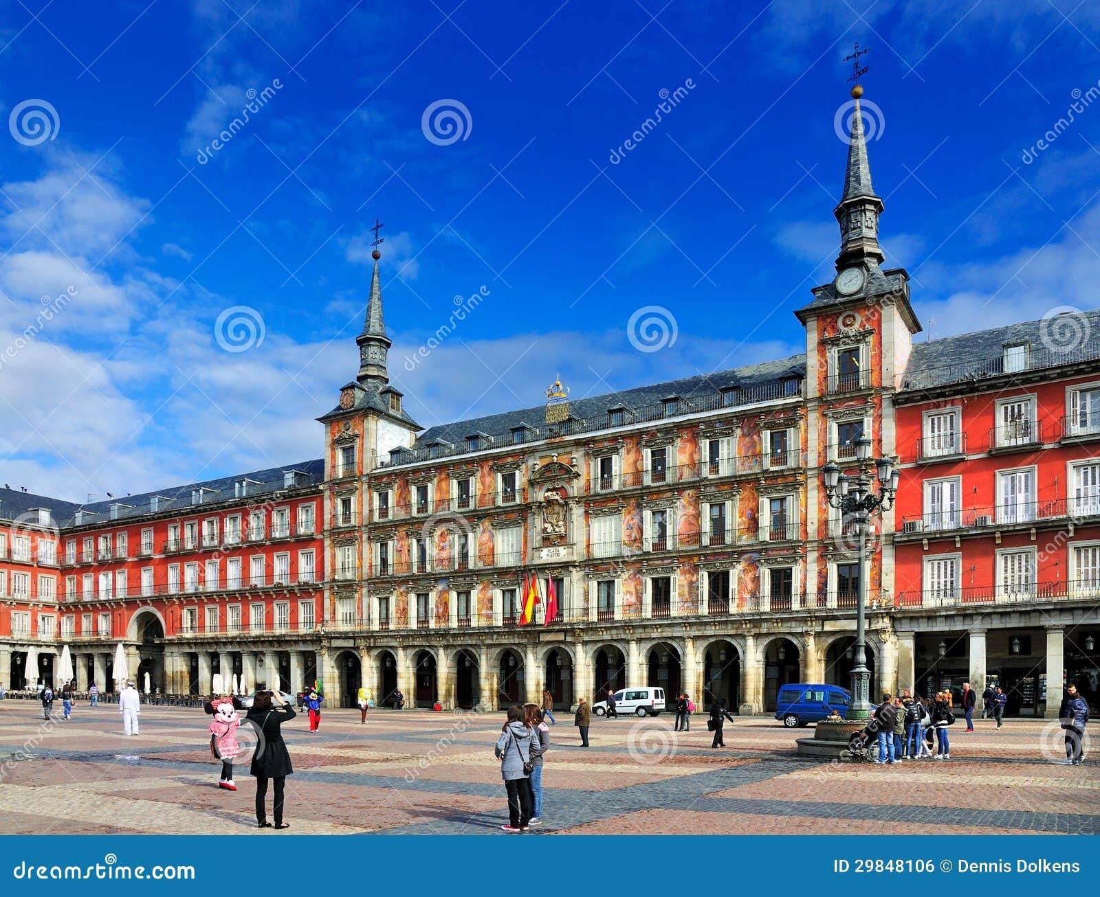 Plazaborgmästare, Madrid, Spanien