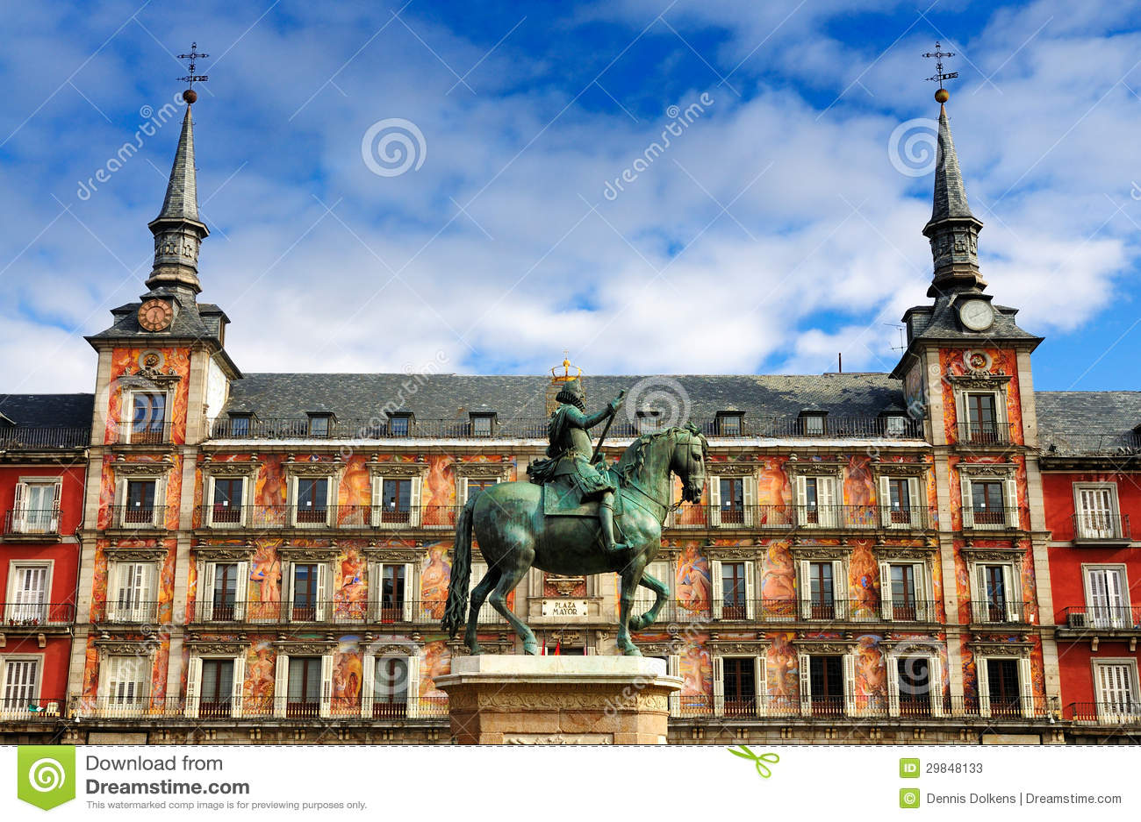 Plazaborgmästare, Madrid