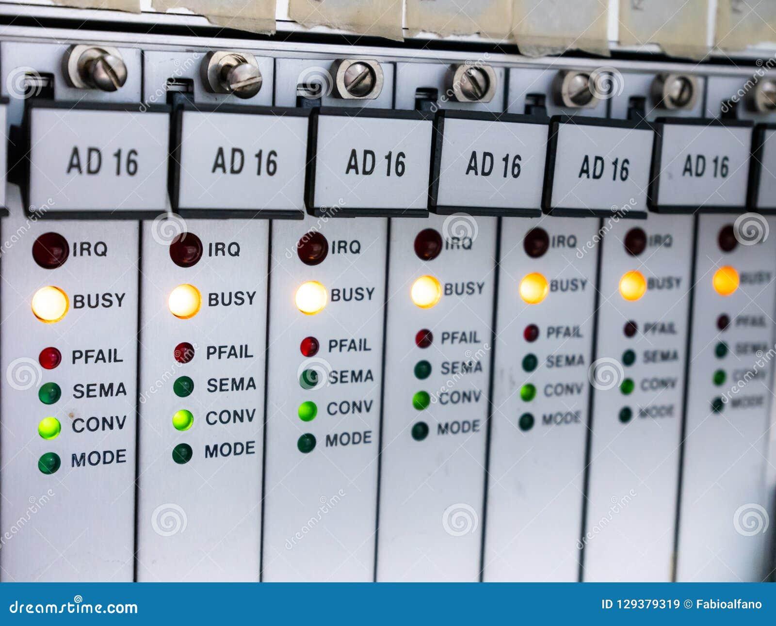 Plc mit Status LED