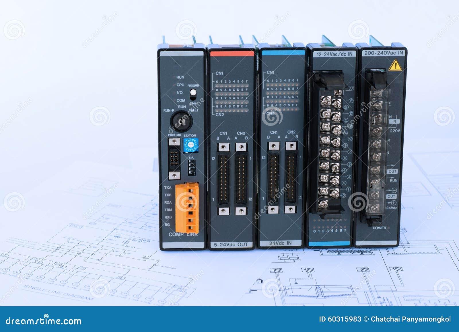 Process Diagram Module Stock Photos