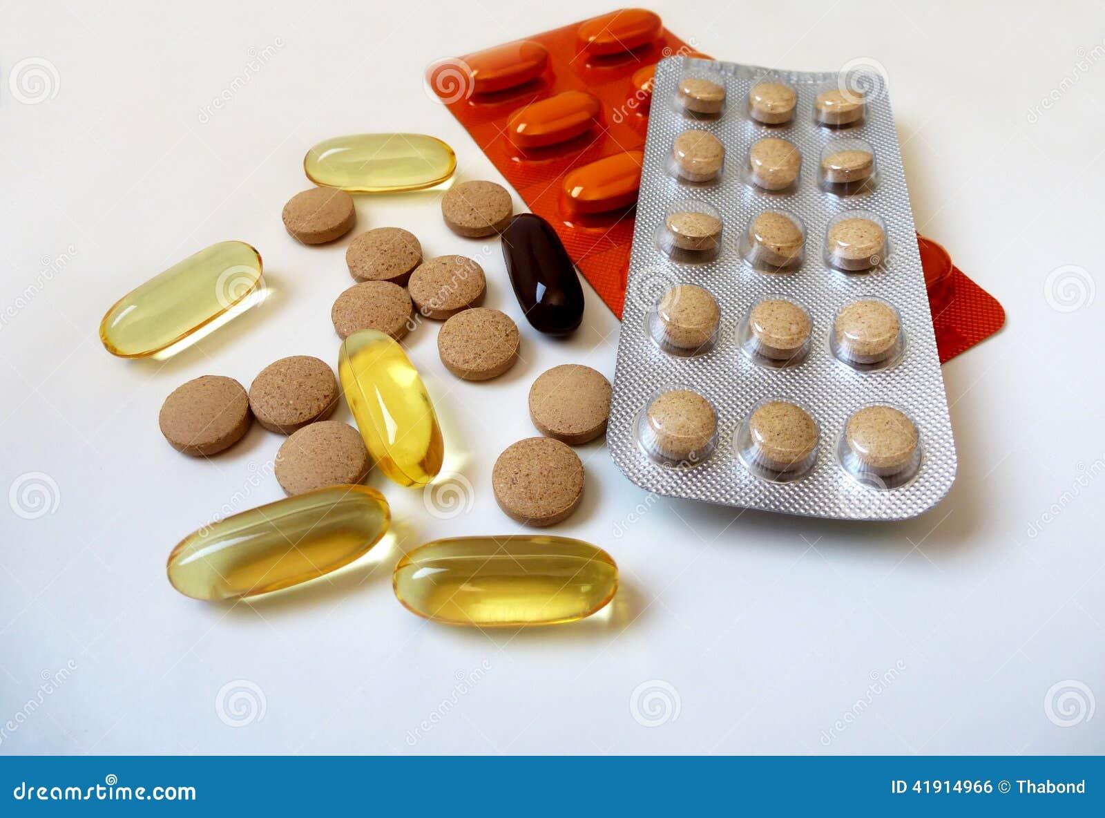 P?ldoras de la vitamina