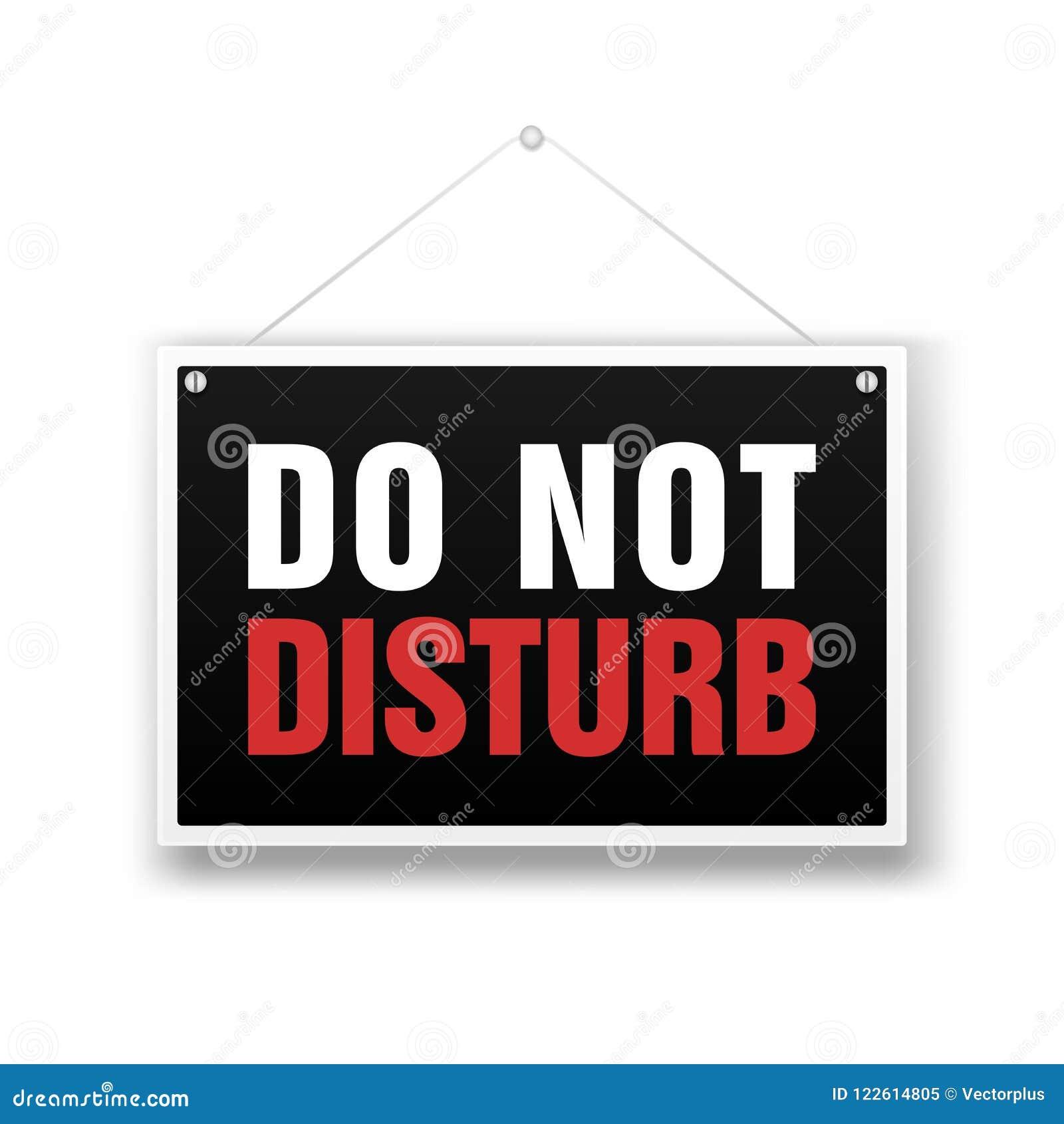 please do not disturb sign pdf