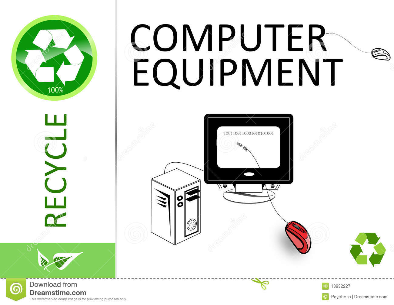 please recycle computer equipment royalty free stock Arm Sling Clip Art Smokestack Clip Art
