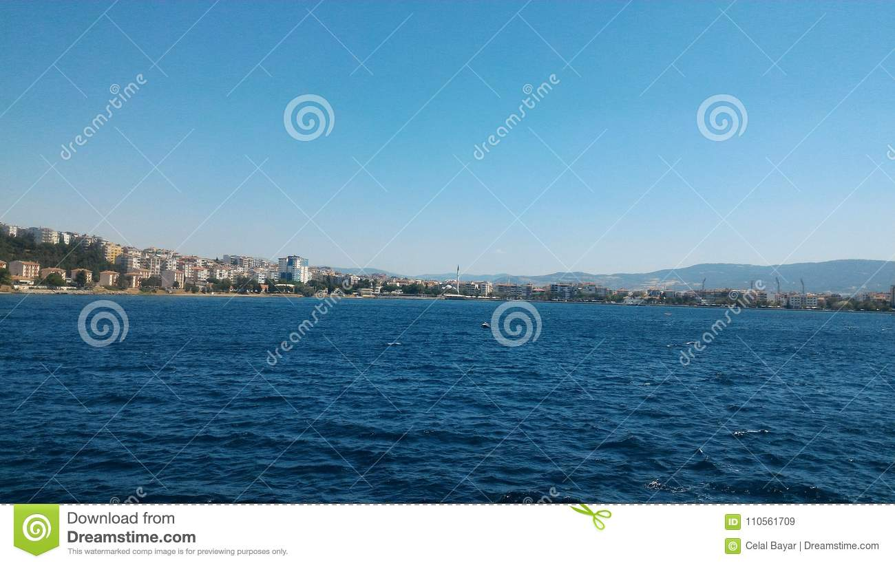 Download Ferry trip stock image. Image of çanakkale, gelibolu - 110561709