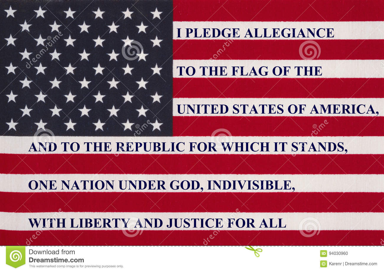 an analysis of the pledge of allegiance to america In america require daily recitation of the pledge of allegiance  the pledge, at  least not if we accept justice kennedy's analysis of lee v.