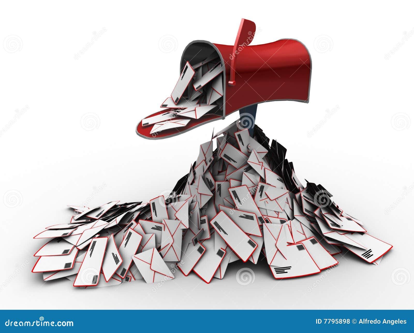 Plein courrier d inbox
