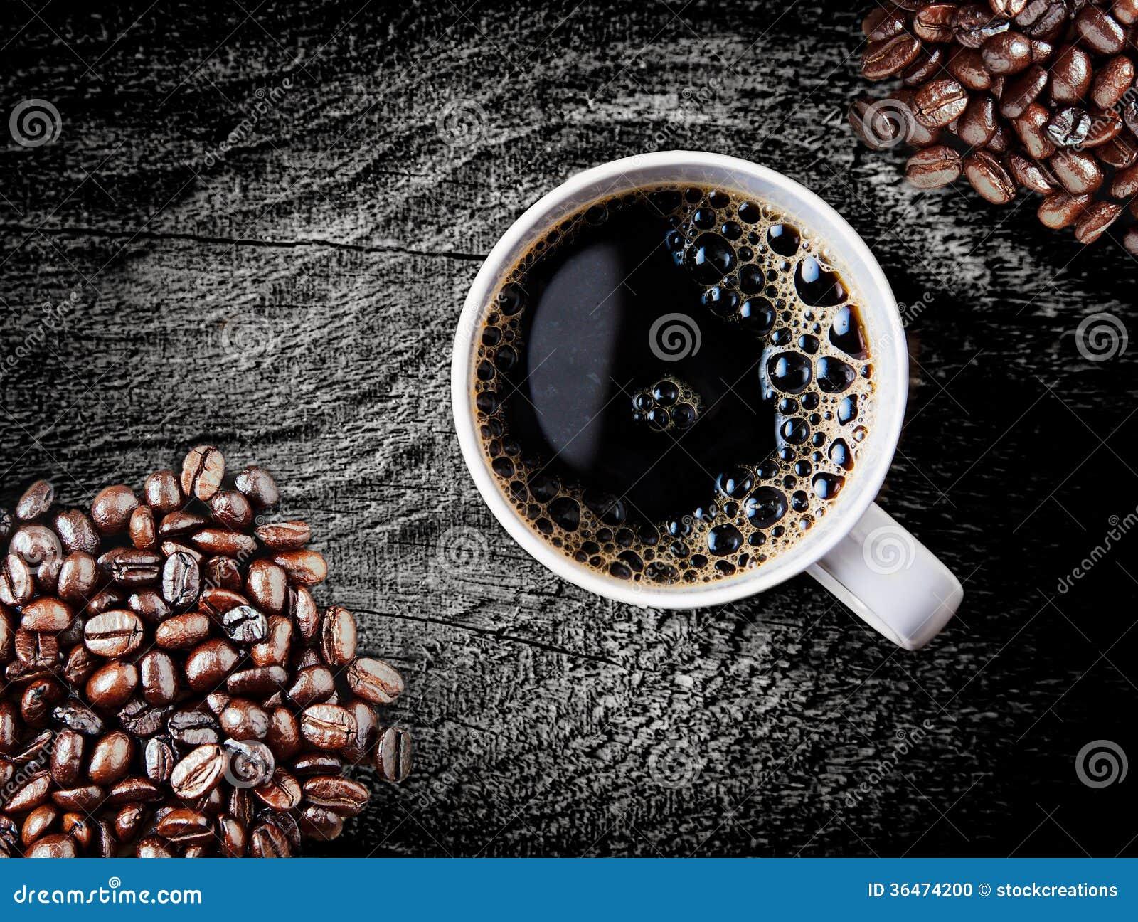 brassage des grains de café verte
