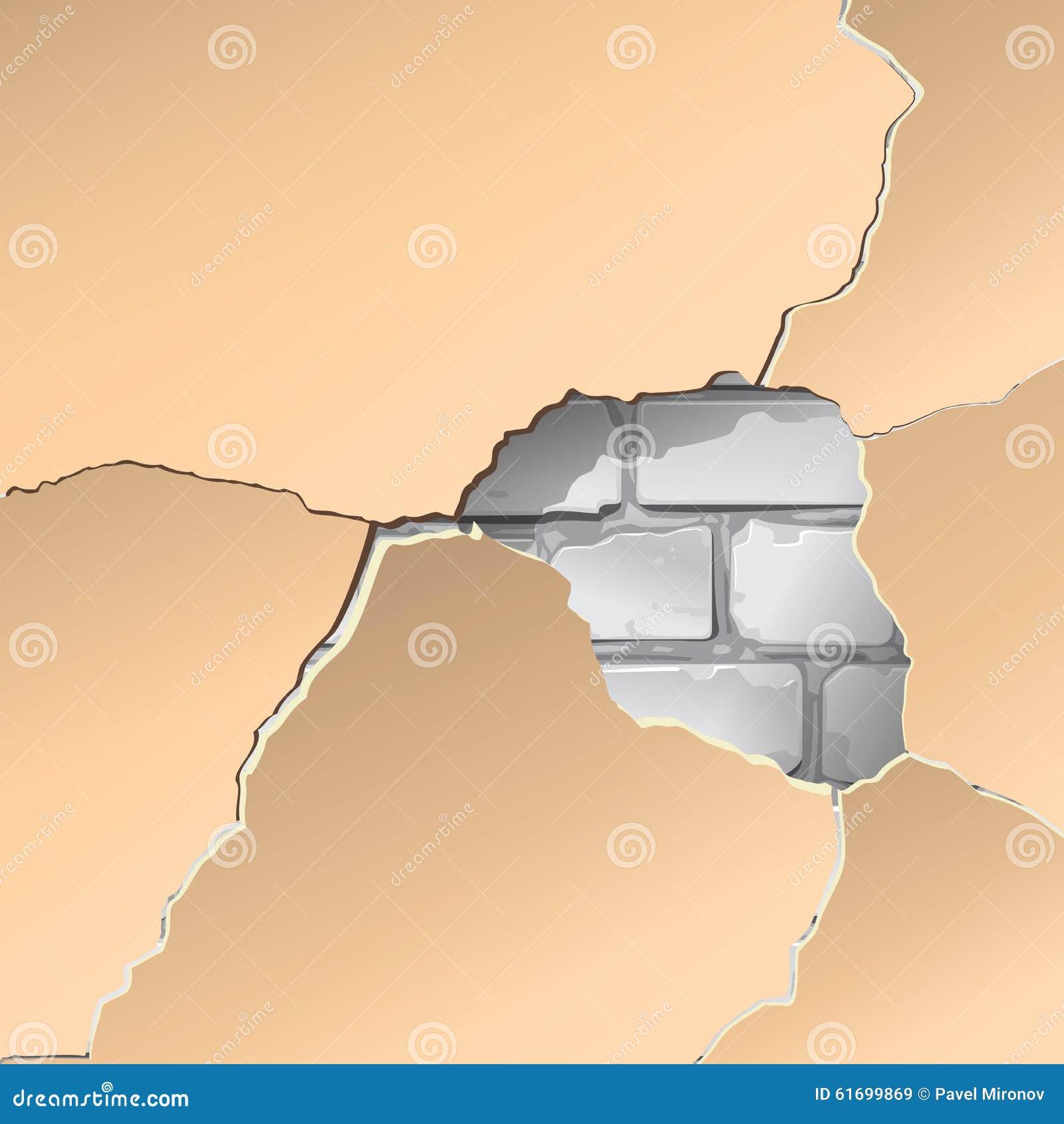 Reparatie van oude bakstenen muur het opzetten van nieuwe ...