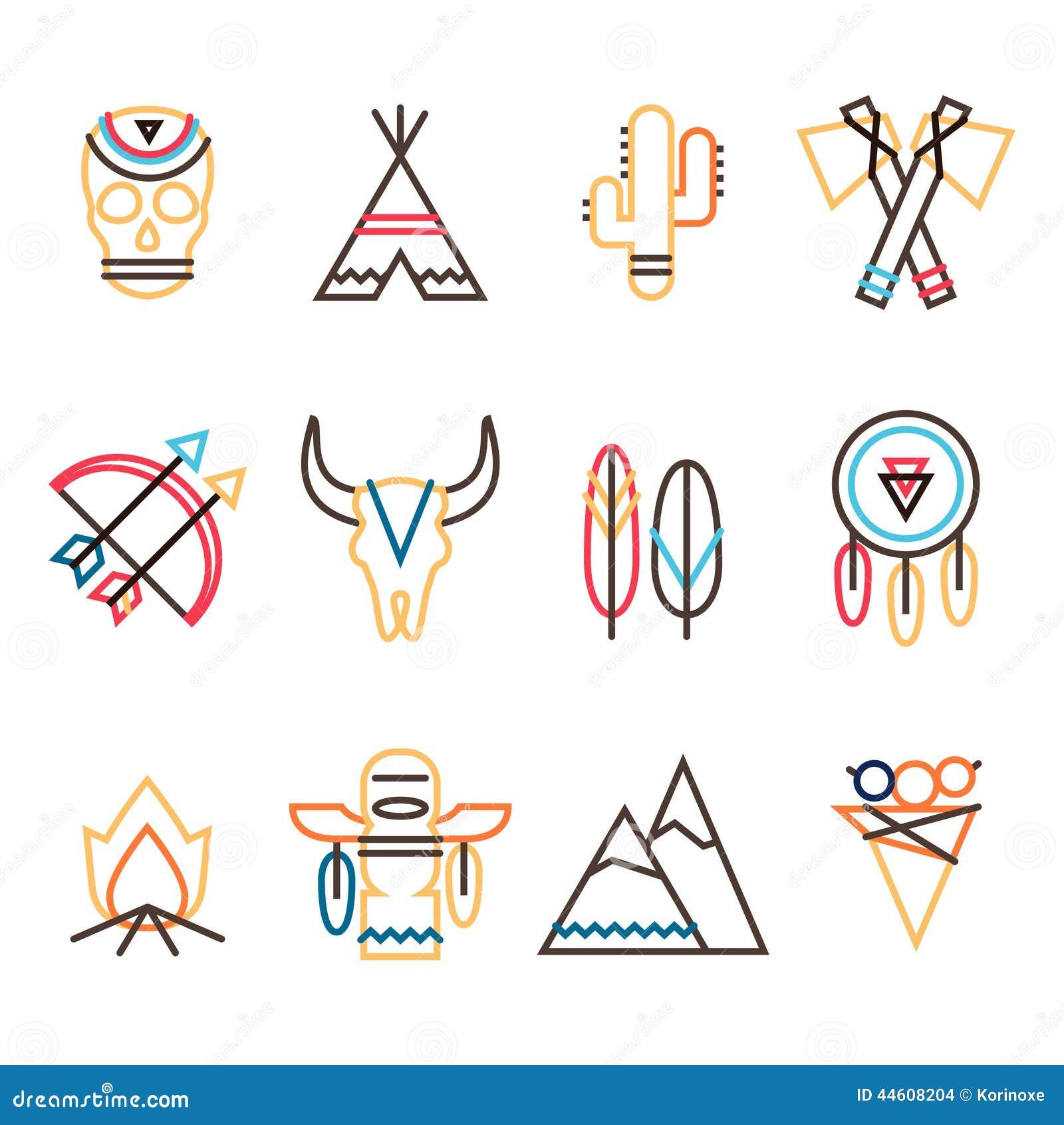 Plemienny ikona set