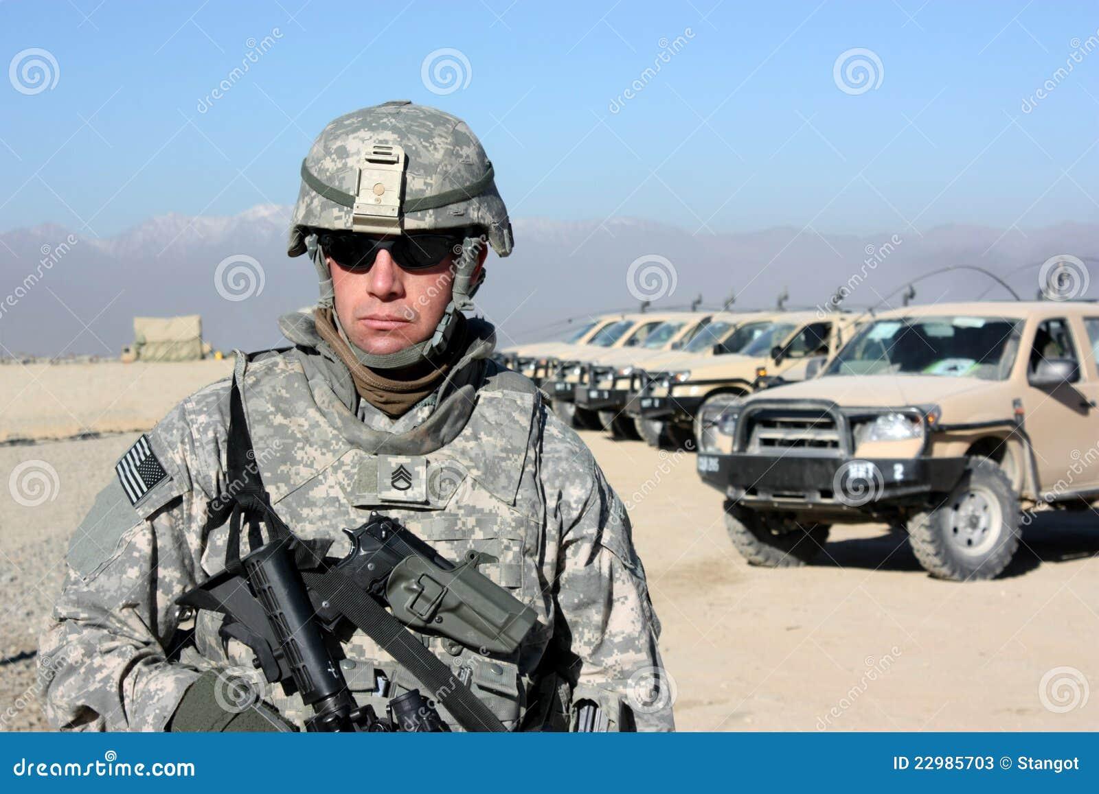 Plenerowy żołnierz