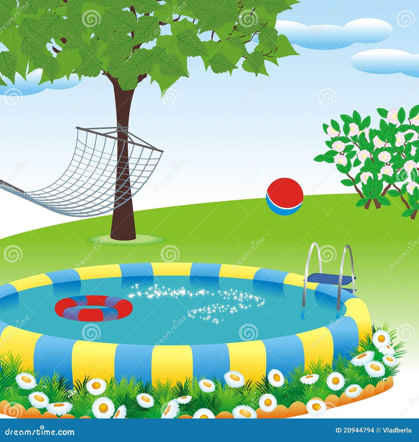 Plenerowy basen