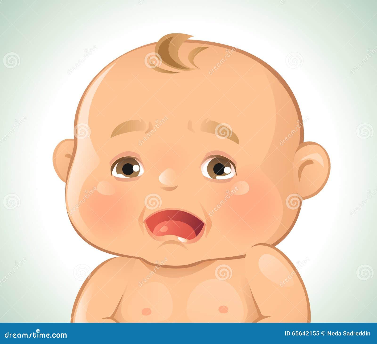 Pleurer d émotions de bébé