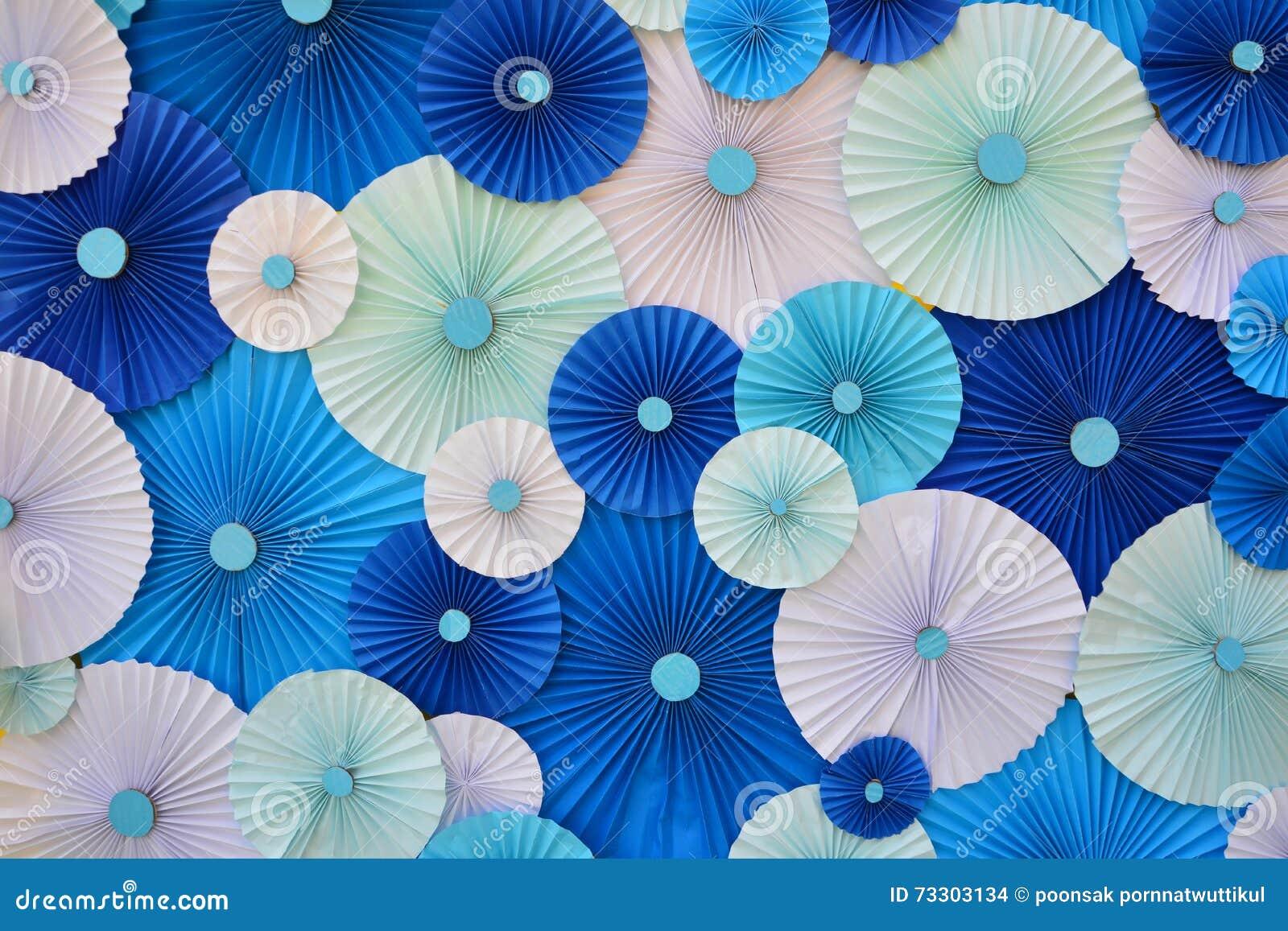 Pliage de papier multicolore