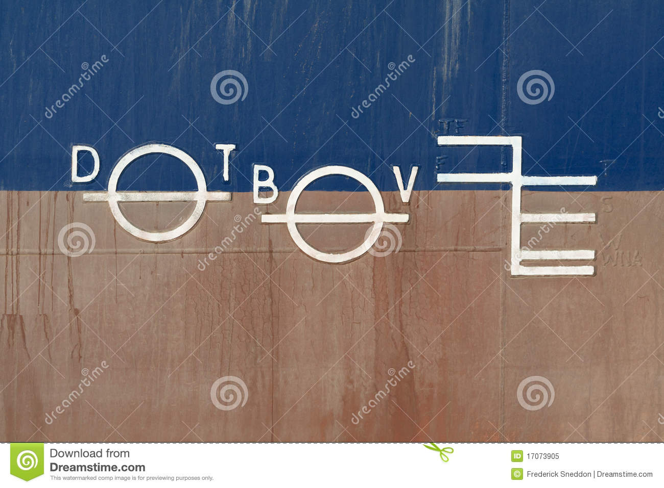 Plimsoll Line Stock Image Image Of Scale White Ship