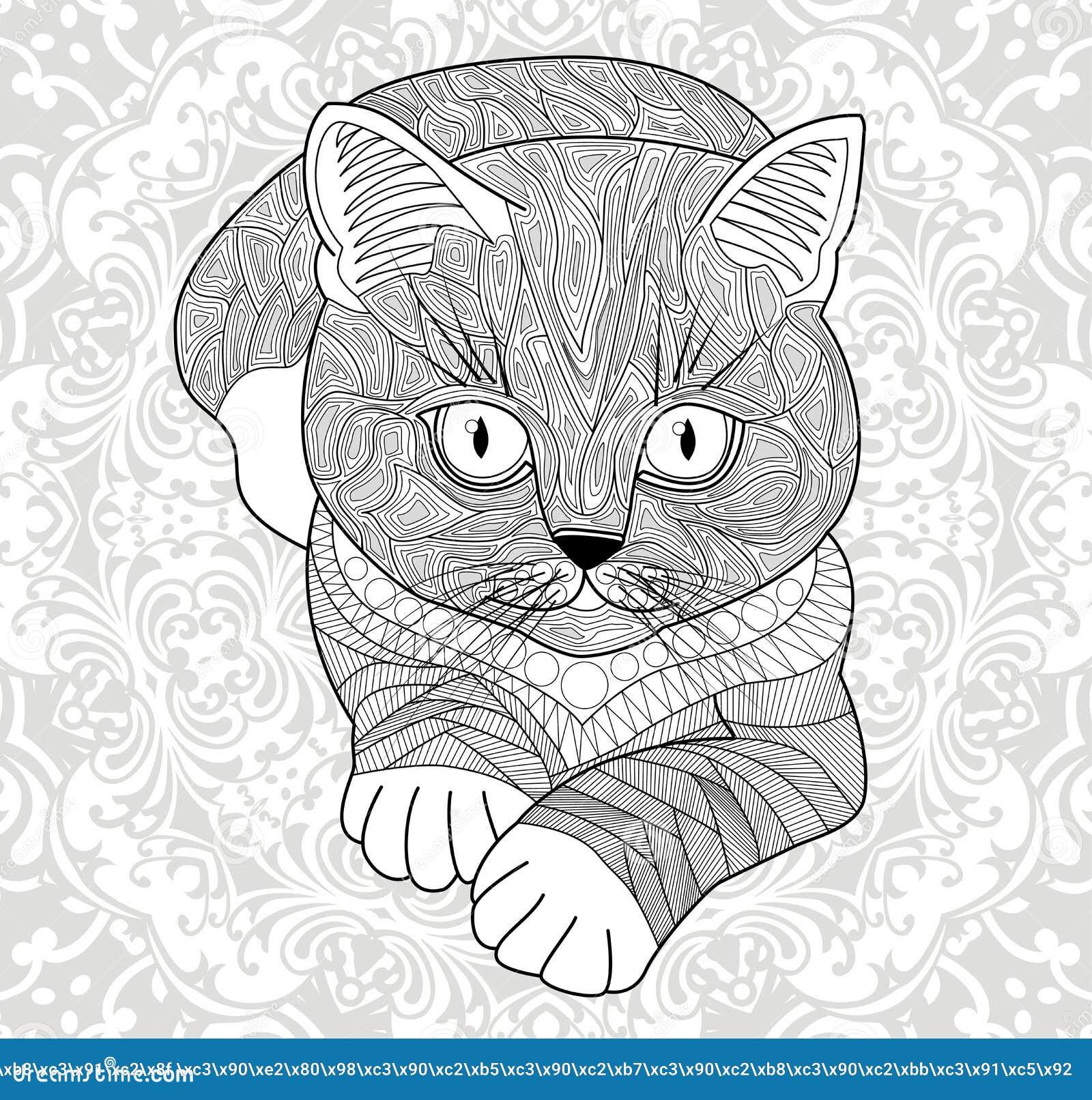 Антистрессовые раскраски мандалы животные