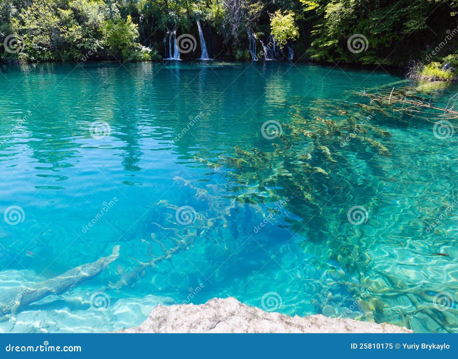 plitvice lakes national park croatia stock image image of place