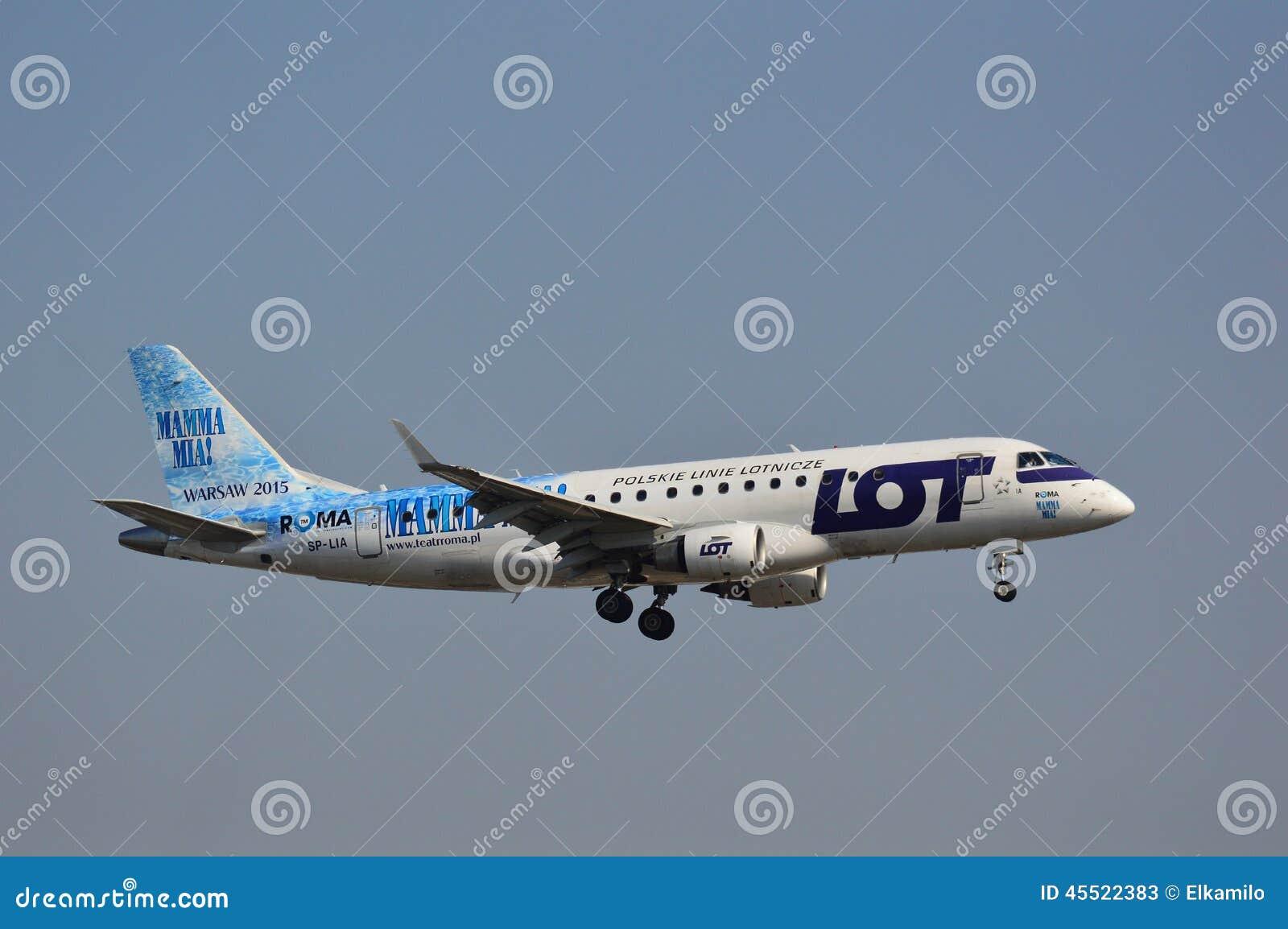PLL udziału samolot