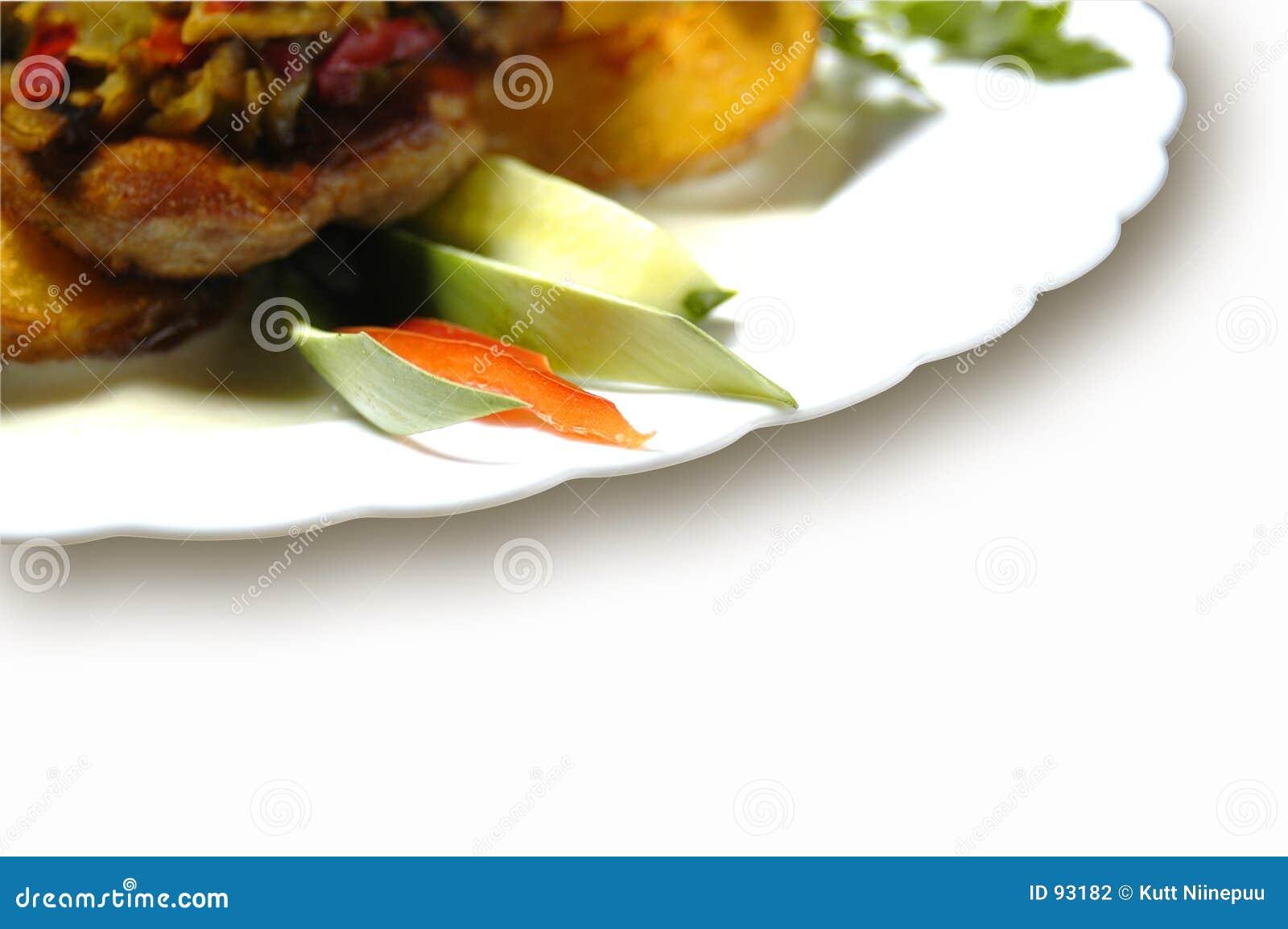 Plocka svamp potatisar