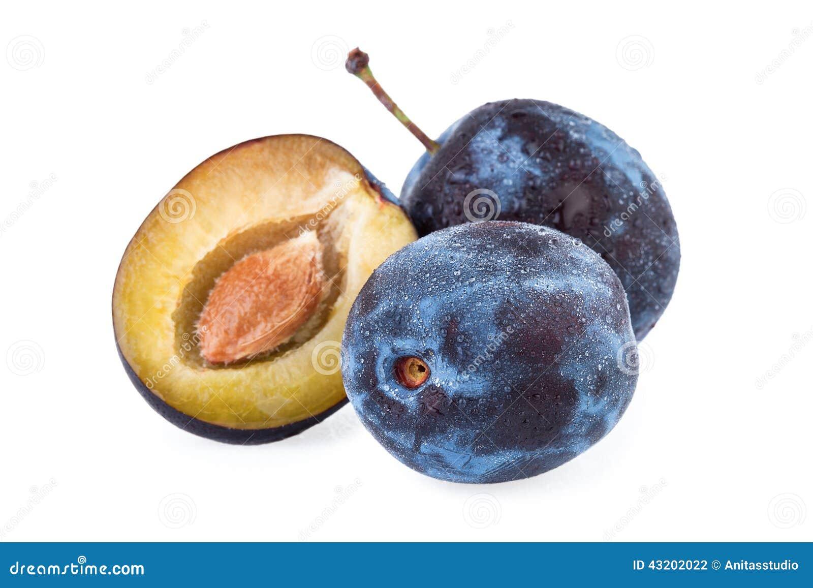 Download Plommonfrukt arkivfoto. Bild av snitt, plommoner, grupp - 43202022