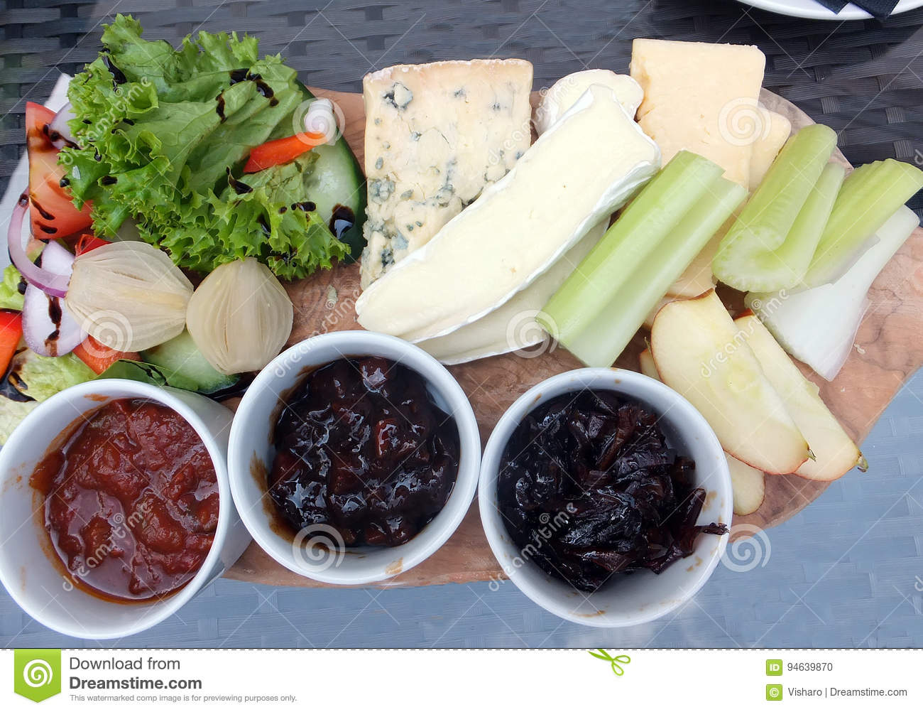 Ploughman ` s Lunch