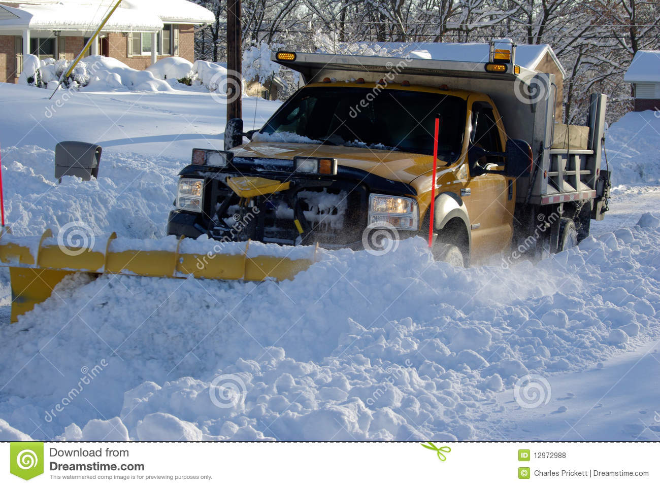 Plowing the Snow