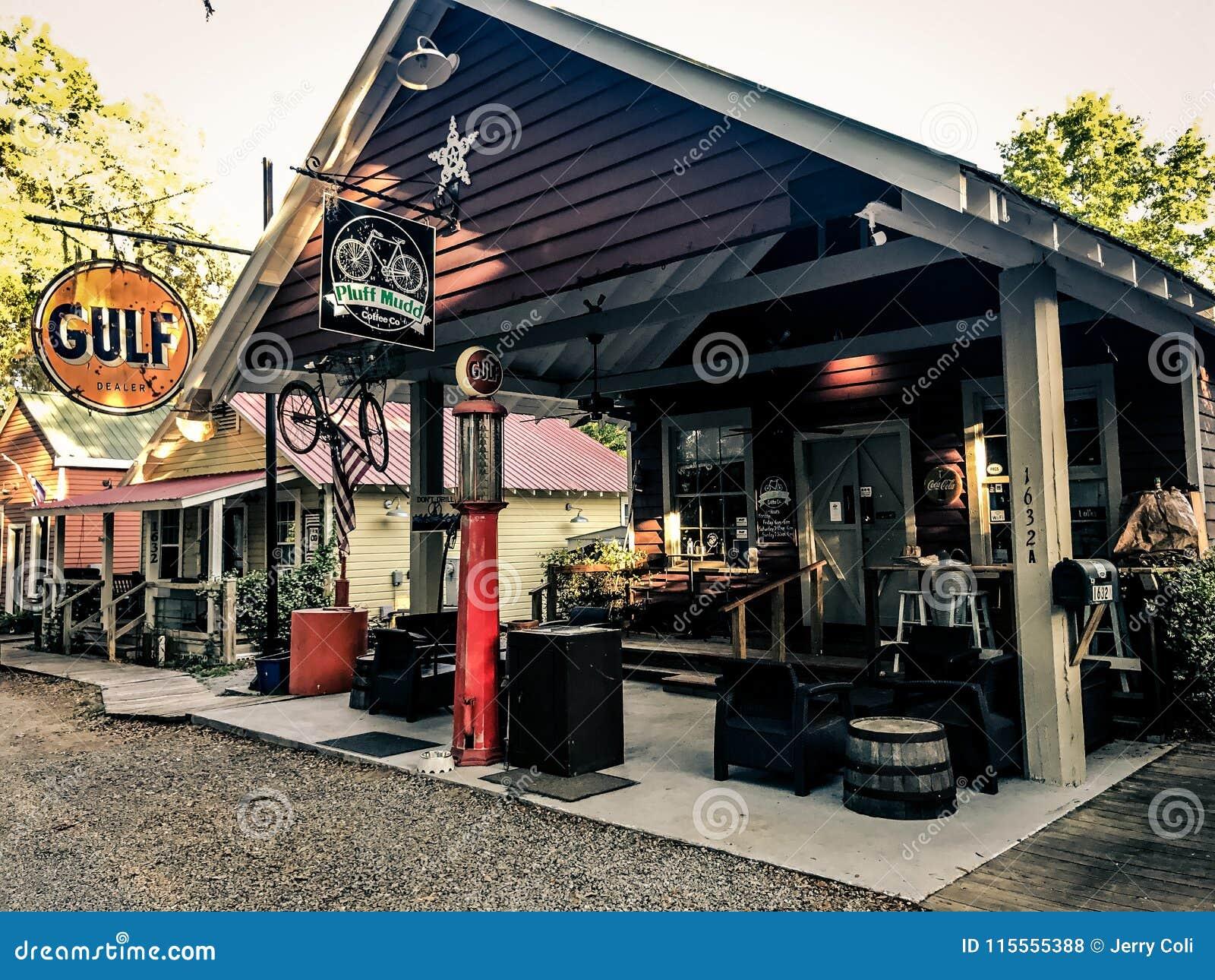 Pluff Mudd, Coffee Company, Port Royal, Carolina del Sud