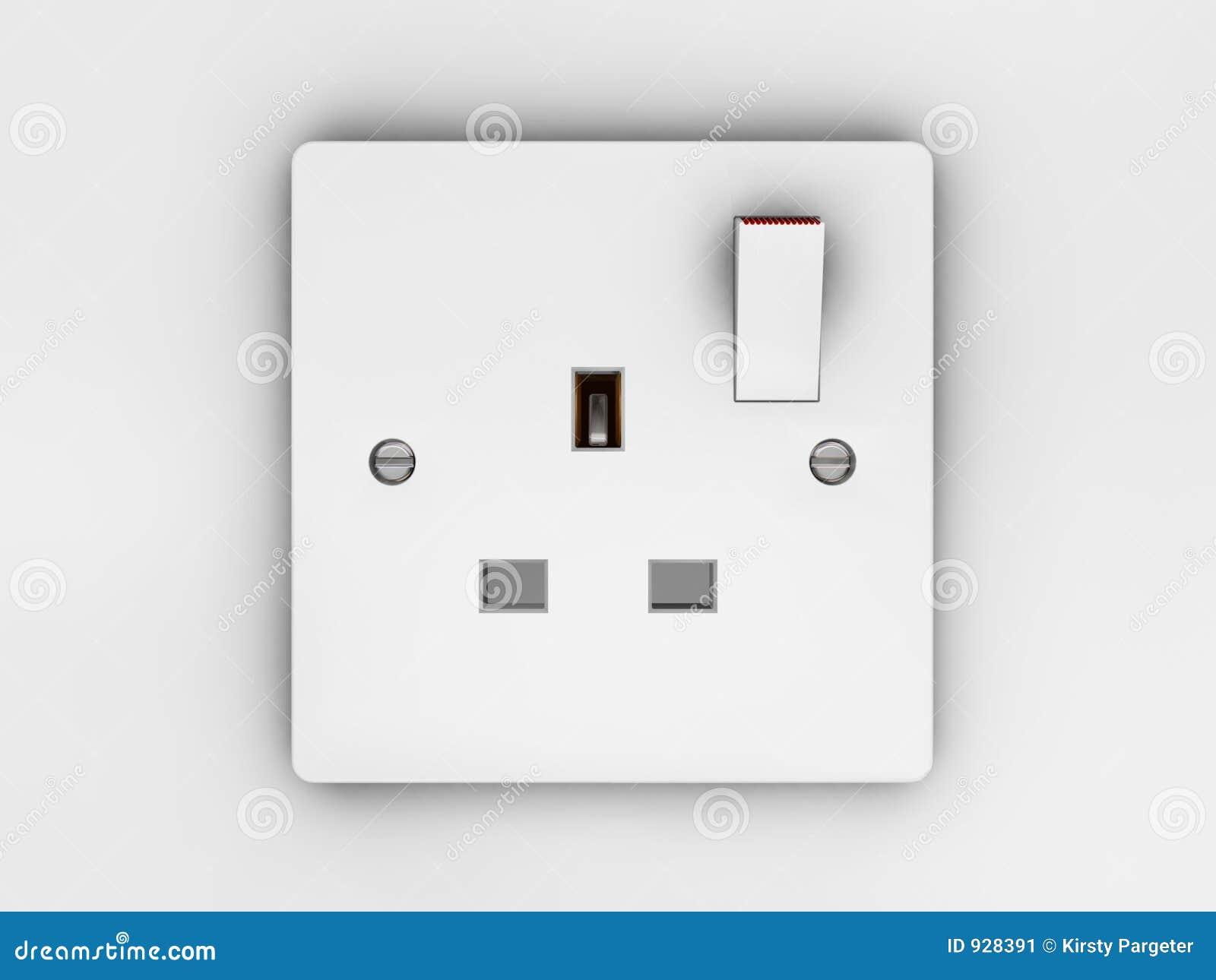 Plug socket stock image image 928391