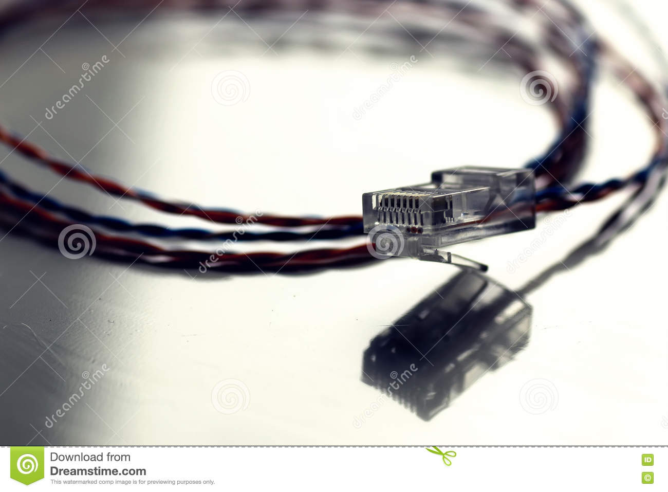 Sensational Plug Wire Color Lan Stock Image Image Of Fibre Colorful 79273273 Wiring 101 Olytiaxxcnl