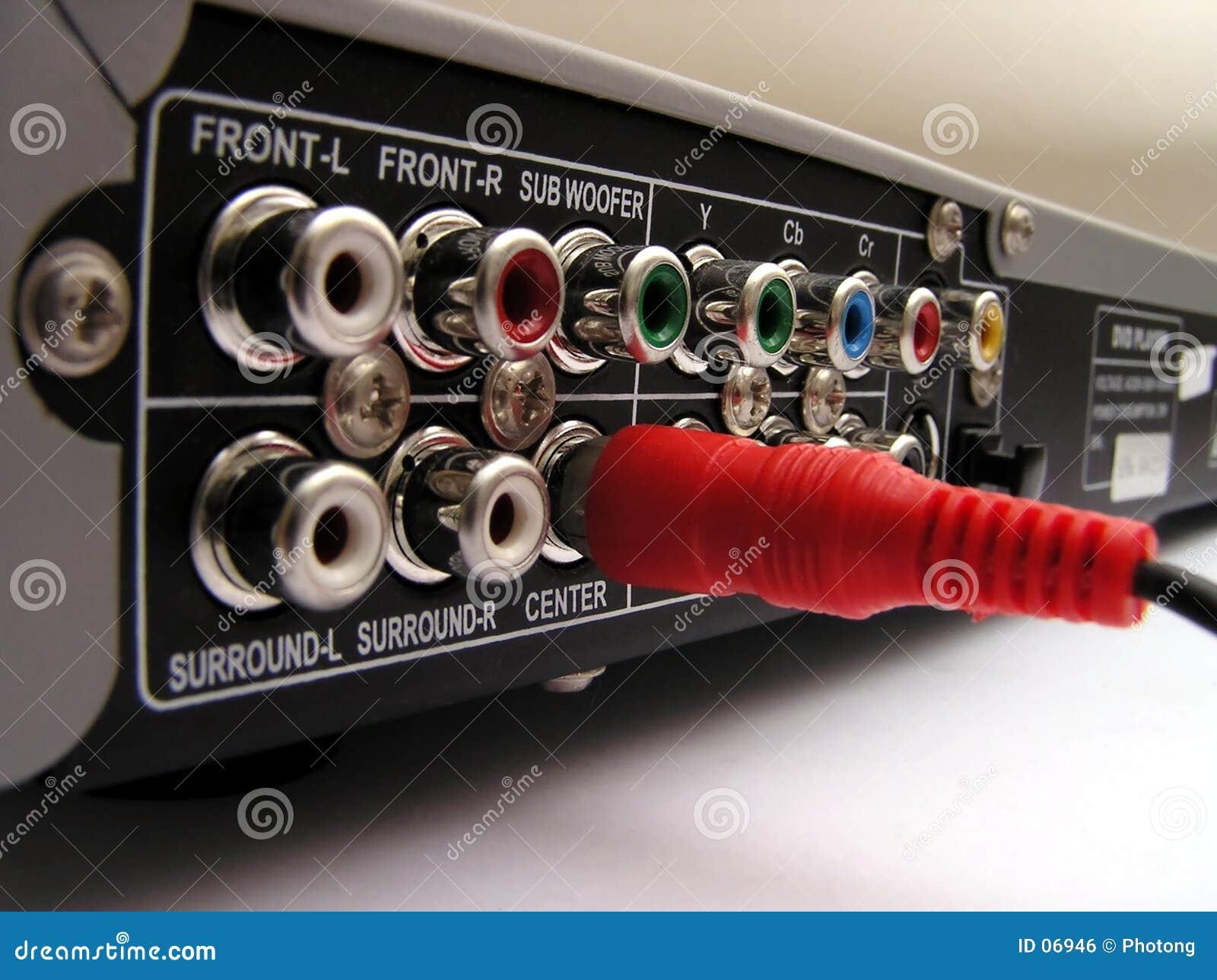 Plugged in - lone plug