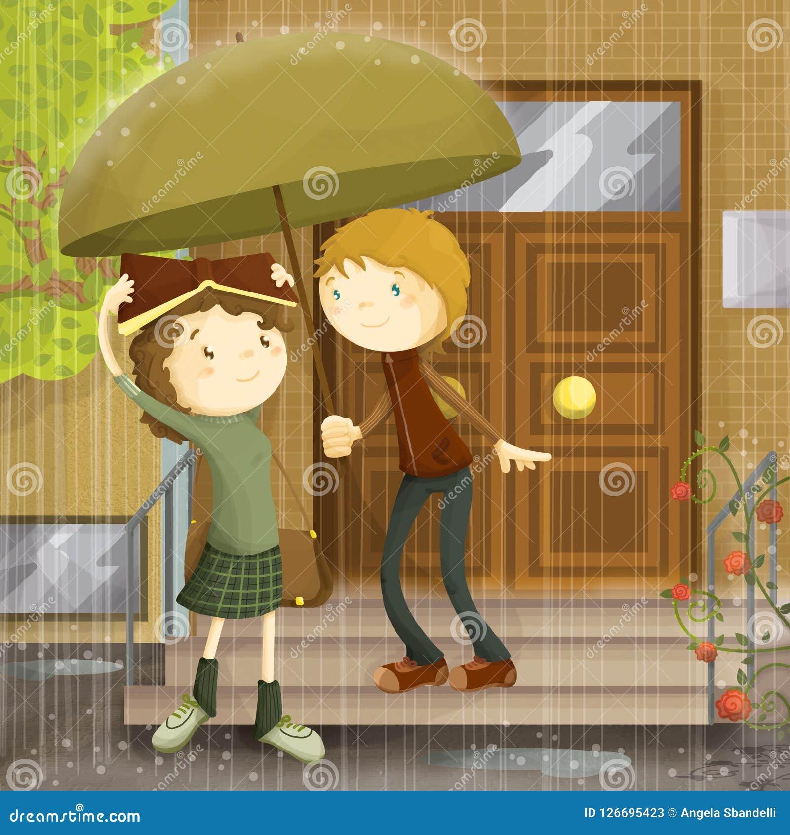 Pluie de l amour