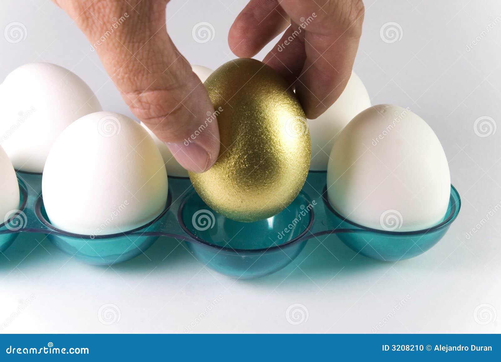 Pluk het gouden ei