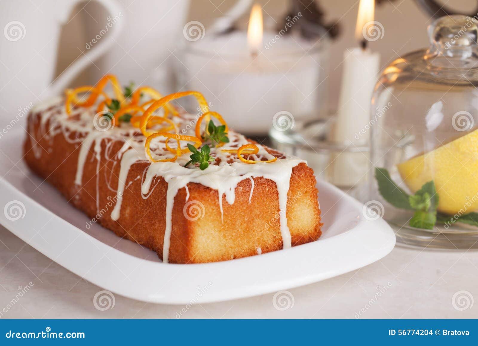 Orange And White Chocolate Loaf Cake