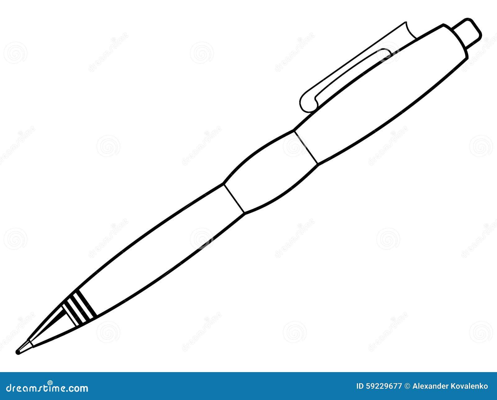 Pluma, escribiendo la herramienta