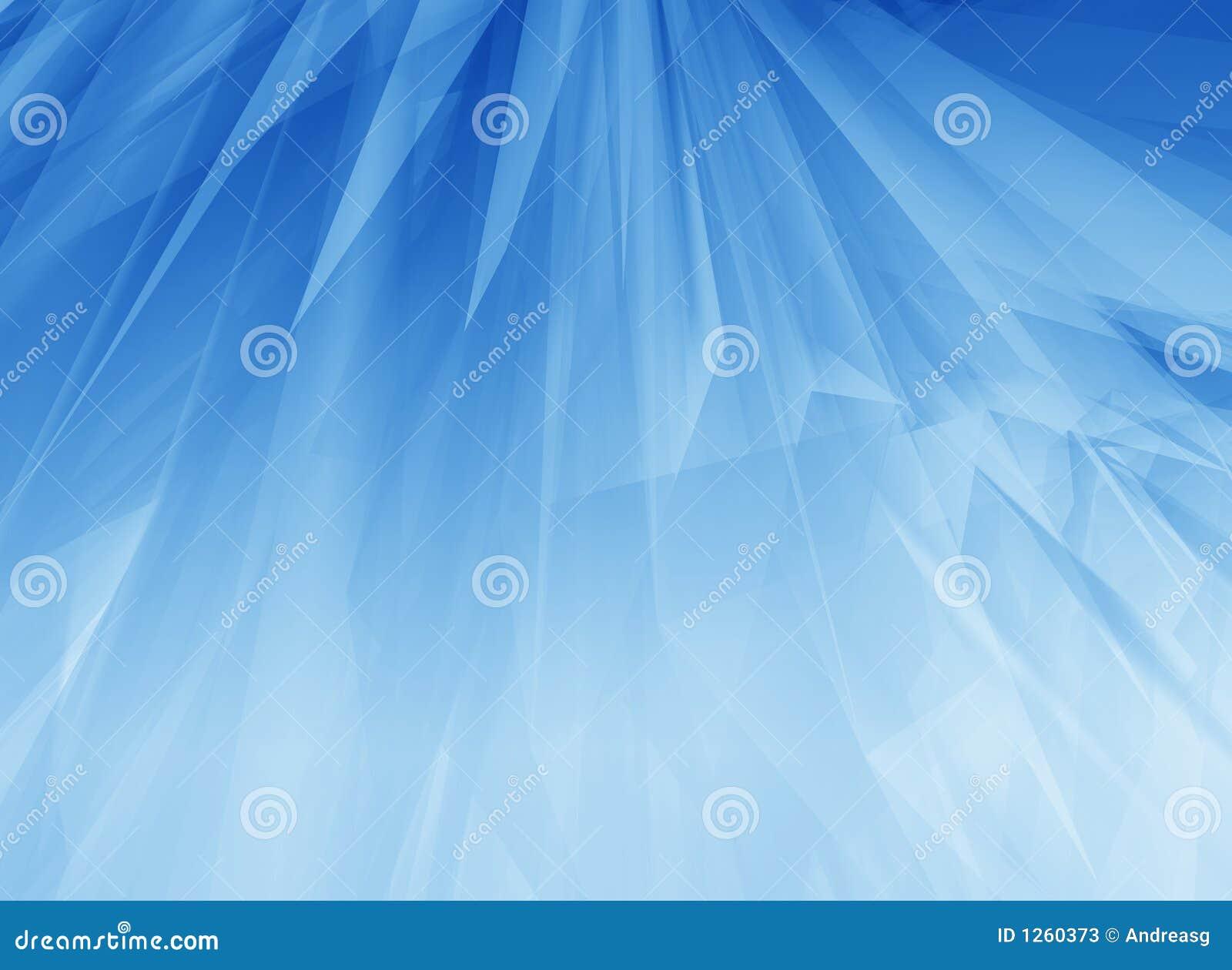 Plumas azules del resplandor