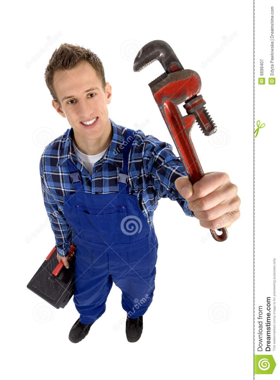 Plumber Royalty Free Stock Photography - Image: 6699407
